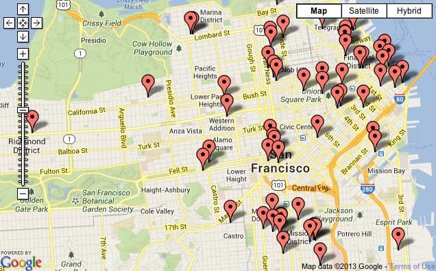 Top 100 Bay Area Restaurants